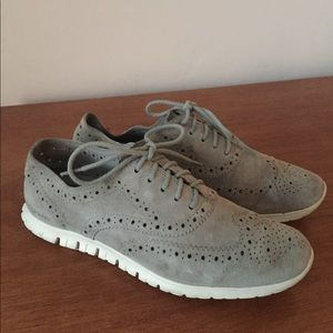 Cole Haan Zerogrand gray shoes
